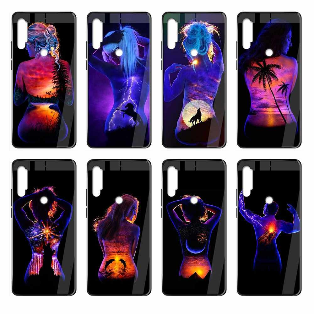 Modern Girl Body Art Style 3d Back Shell Black Phone Case Cover Hull For Xiaomi Redmi Note S2 3 4 5 6 7 8 K20 A S X Plus Pro Aliexpress