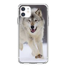 Baby Wolf Wallpapers For iPhone 11 Pro 4 4S 5 5S SE 5C 6 6S 7 8 X XR XS Plus Max For iPod Touch Durable Silicone Phone Case(China)