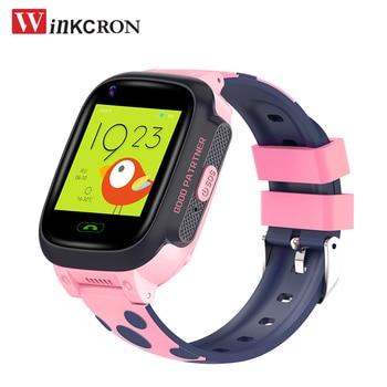 Girl Kids 4G Smart Watch Phone GPS Waterproof Children Smart Watch Wifi SIM Location Tracker Smartwatch HD Video Call Baby Watch