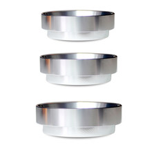 Anillo de dosificación inteligente de aluminio, embudo de dosificación para taza de cerveza, herramienta de café en polvo, Espresso Barista para filtro de café de 58, 51 y 53MM