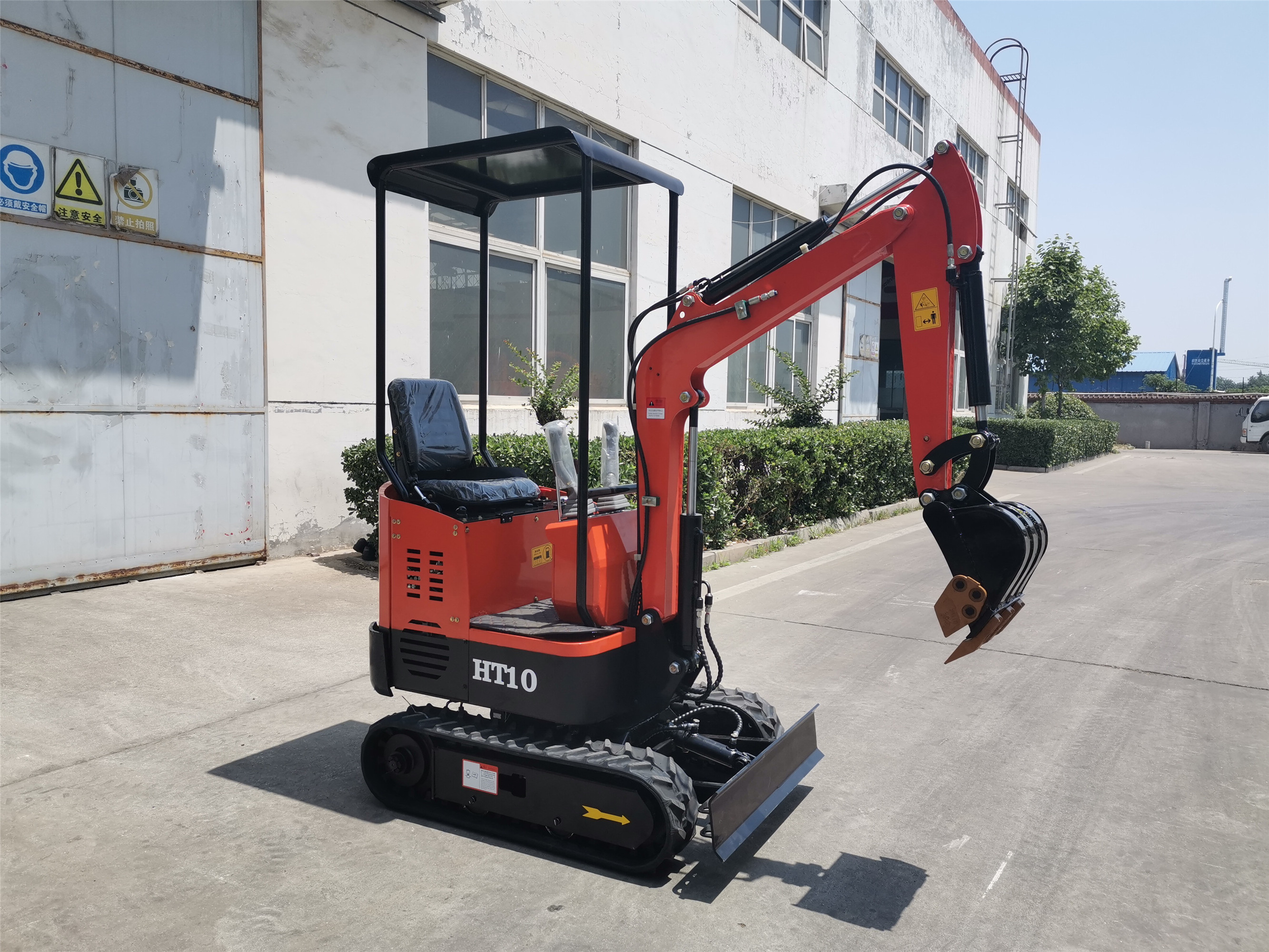 HIGHTOP Excavator China Mini Excavator Crawler Excavator For Garden Use