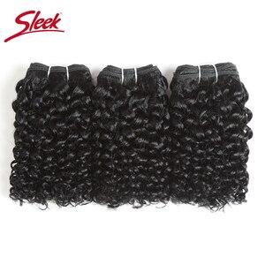 Гладкие волосы, индийские Remy Jerry вьющиеся человеческие волосы, двойной нарисованный натуральный цвет коричневый 2 # пряди наращивание волос ...
