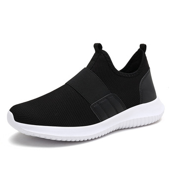New Arrival Summer Casual Shoes For Men Fashion Breathable Mesh Lace up Men Flats Sneakers Jogging Shoes Plus  Men Sneakers