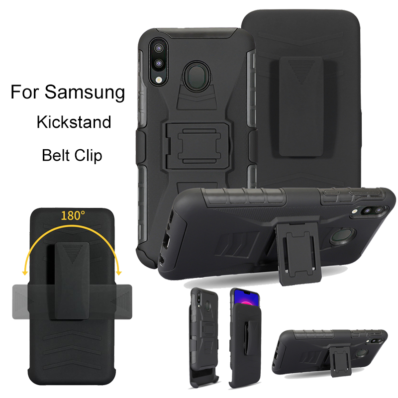 Heavy Duty Armor Shockproof Kickstand Belt Clip Case For Samsung Galaxy j7 j5 prime pro a5 2017 note 9 8 5 4 3 Case cover phone image