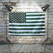 USA flag Large Reggae Heavy Metal Band Poster Music Banner Background Wall Flag Decor Vintage Creative Cloth Art Painting(China)