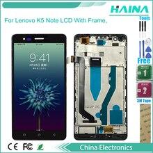 6,0 AAA качественный ЖК-дисплей и сенсорный экран дигитайзер в сборе для Lenovo K5 Note A7020 ЖК-дисплей Бесплатные инструменты