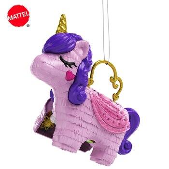 Polly Pocket Unicorn/вечерние компактные куклы Polly & Lila + 25 сюрпризов, модные наряды, игрушки, подарки
