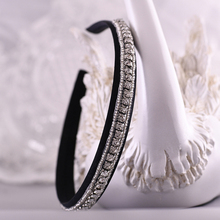 TRiXY S217-FG Vintage Wedding Hair Accessories Baroque Hair Band  Rhinestone Crystal Headband Women Headdress Bridal Headpiece