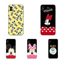 Soft Skin Paintin For Galaxy A10S A20S A2 Core A30S A40S A50S A70S A90 5G M10 M30S M40 Note 10 Plus Mickey And Minnie Cute(China)