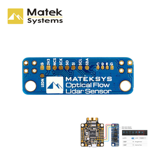 Image 3 - 1 قطعة MATEKSYS Matek البصرية تدفق و ليدار الاستشعار 3901 L0X INAV وحدة F4 F7 F405 وحدة تحكم في الطيران ل RC FPV سباق الطائرة بدون طيار