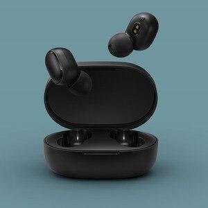 Image 3 - 2020 Xiaomi Redmi Airdots S אמיתי אלחוטי אוזניות קול בקרת Bluetooth 5.0 רעש הפחתת שליטה ברז טעינת תיבת Earbud