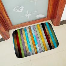 Home Living Room Entrance Hall Carpet Mat Doormat Color Vertical Pattern Bathroom Kitchen Stair Non-slip Water Absorption Rug brick wall pattern indoor outdoor water absorption area rug