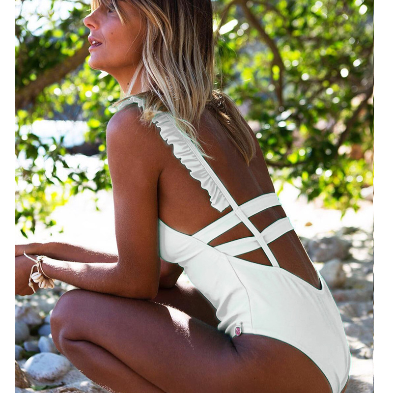 <font><b>Sexy</b></font> <font><b>One</b></font> <font><b>Piece</b></font> <font><b>Swimsuit</b></font> <font><b>2019</b></font> Swimwear Women Beachwear <font><b>Swimsuit</b></font> Female Bathing Suit Beachwear Fatos de banho <font><b>mulher</b></font> Monokini image