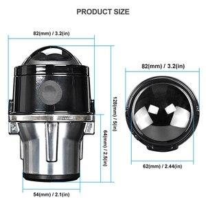 Image 2 - 2.5 Inch Bi Xenon Projector Lens Auto Mistlamp Waterdichte 12V 24V Koplamp Lamp H11 Leds Xenon bollen Voor Auto Off Road Xenon