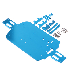 RC Car Chassis Armor, Metal Chassis Armor Chassis Plate Accessories for Wltoys A949 A959 A969 A979 K929 A959-B