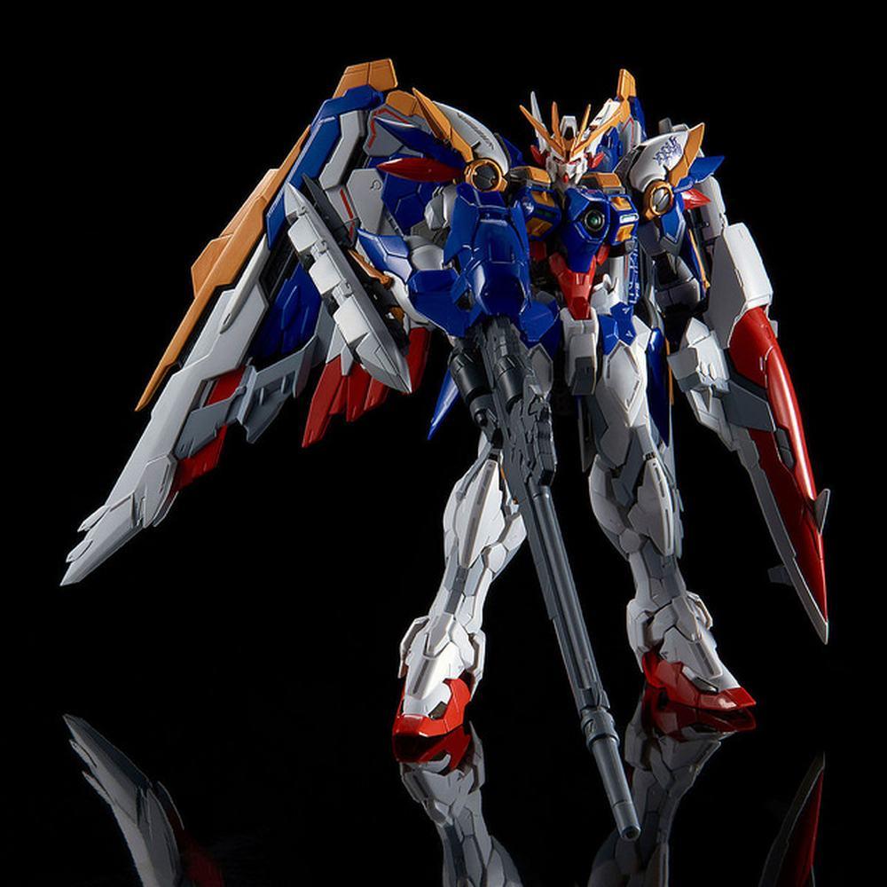 Anime Mobile costume chaud enfants jouets HIRM MG 1/100 aile Gundam zéro EW sans fin valse combattant assemblé Robot Action Figure boîte de détail