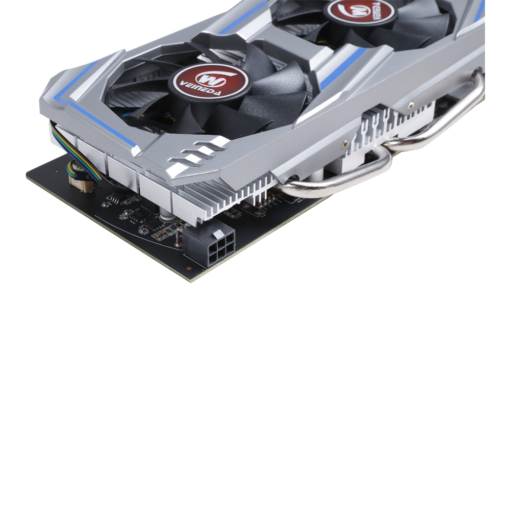 Graphics Card RX 570 With 8GB 256-Bit GDDR5 For AMD Graphics Card Geforce Games 4