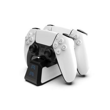 PS5 double poignée USB rapide 5V 720MAH Station de chargement chargeur de support pour Station de jeu 5 PS5 contrôleur de jeu Joypad Joystick 10
