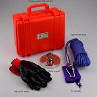 600Kg Starke Neodym Permanent N52 Magnete Magnet Angeln Magnet Design Magnet Magnetische Material Basis mit Handschuhe Seil Tasche Box