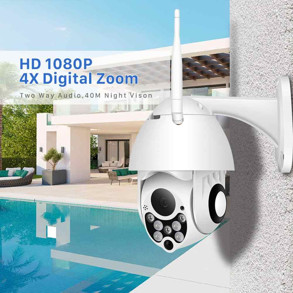 Besder 1080P Waterdichte Ip Camera Motion Alarm Wifi Security Camera Pan Tilt 4X Digitale Zoom Ir Nachtzicht Wifi camera Onvif