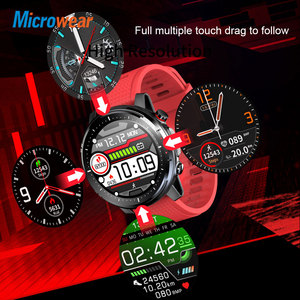 Image 4 - 2020 New Microwear L15 Smart Watch Men IP68 Waterproof smartWatch ECG PPG Blood Pressure Heart Rate sport fitness Smartwatch