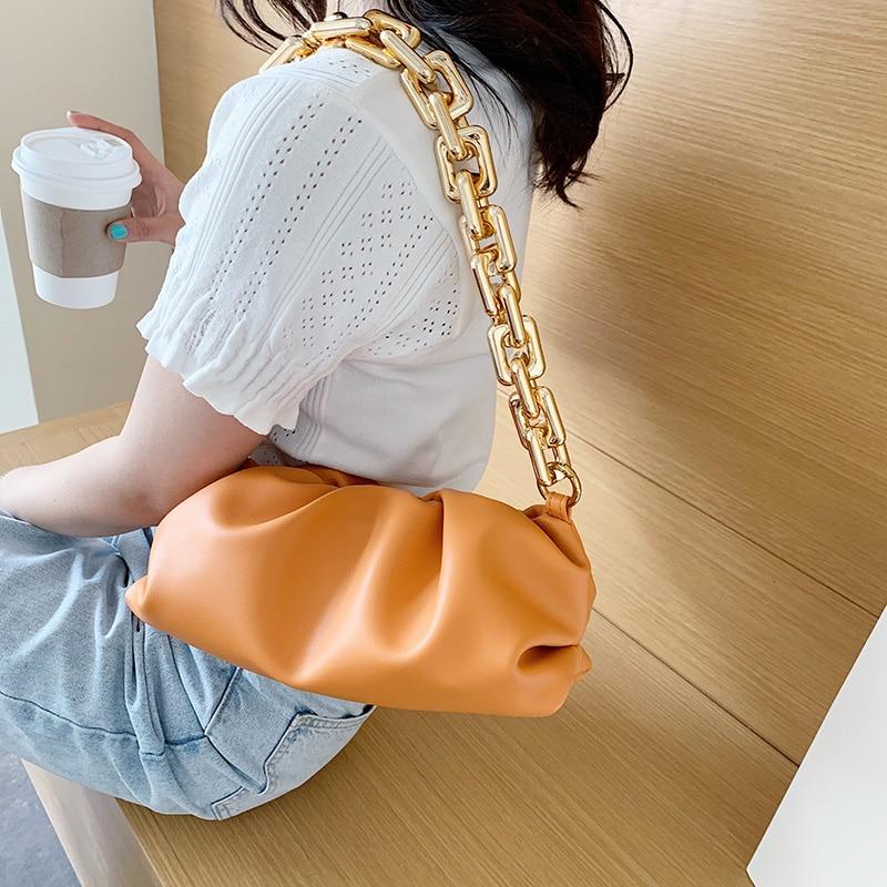Bag For Women Cloud bag Soft Leather Hobos Bag Single Shoulder Purse Women Crossbody Bag Luxury Handbag And Purse Day Clutches 2