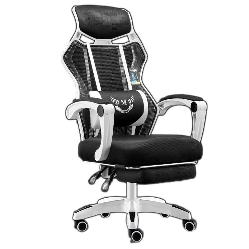 Luxury Quality Gaming Poltrona Silla Gamer Office Breathable Cushion Lacework Chair With Footrest Can Lie Ergonomics Household