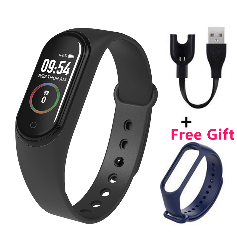 M4 Wristband Smartband Sport Bracelet Smartwatch Monitor Fitness Tracker Activity Blood Pressure Android Ios Bluetooth image