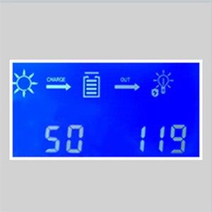 Image 2 - Makeskyblue 50a mppt controlador de carga solar max 160 v 2200 w pv entrada display lcd automático para 12 v 24 36 v 48 v sistema v119 wifi