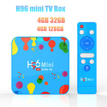 H96 Mini Android 9.0 TV Box 4GB 32GB/128GB Allwinner H6 Quad Core 6K H.265 2.4G&5GHz Wifi BT4.0 FHD Google Player Set top box(China)