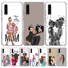 Baby Mom Girls Cover Phone Case for Huawei