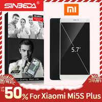 Original para Xiaomi mi 5S Plus LCD pantalla Digitalizador de pantalla táctil con el marco para Xiaomi mi 5S Plus Display mi 5 S Plus mi 5S + LCD
