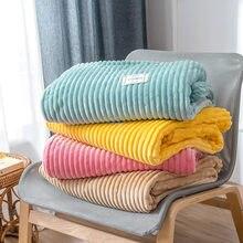 Couverture polaire adulte pour lit couvertures de canapé décoratives douces sur le canapé couverture de canapé multicolore pour couverture de point de voyage pour voiture