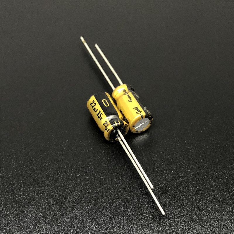 5pcs/50pcs 22uF 35V NICHICON FG (Fine Gold) 6.3x11mm 35V22uF High Grade Audio Capacitor