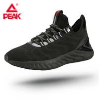PEAK TAICHI King Running Shoes Adaptive Tech Lightweight Gym Fitness Sneakers Quick dry Absorbing Jogging Couples Footwear