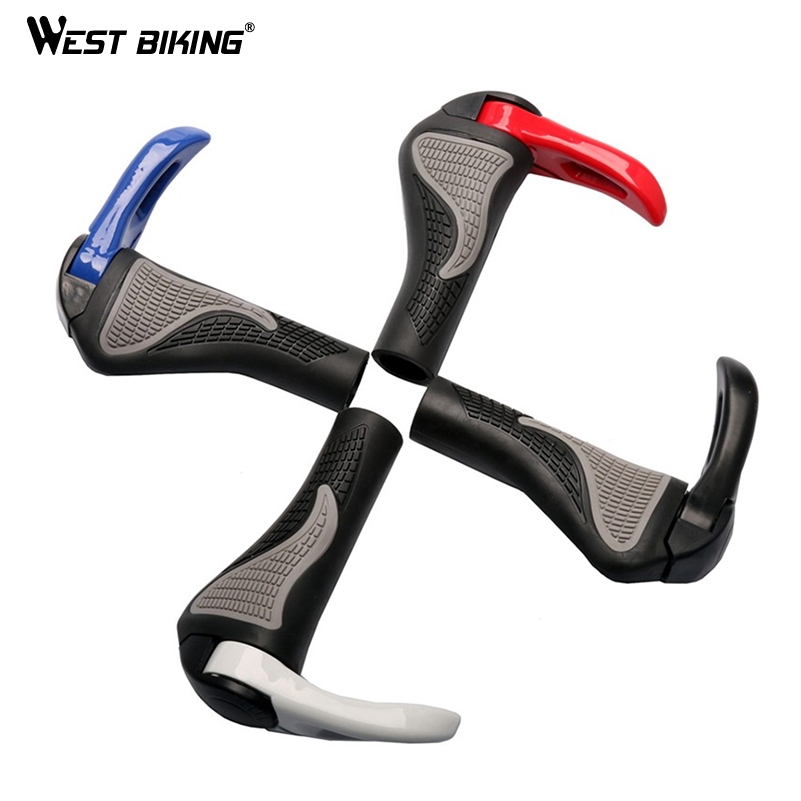 Black Bicycle Handlebar Aluminum Cover Vice Ergonomic Road Bike Brake Handle S