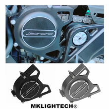 MKLIGHTECH Motorcycle CNC Aluminum Chain Protector Cover For Benelli Leoncino500 Leoncino 500 2017-2019