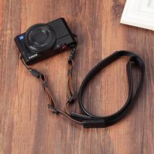 Original Genuine Leather +Webbing Handmade Camera Shoulder Strap Neck Belt for Canon/Nikon/Sony/Panasonic/Sigma/Olympus/Fuji