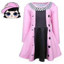 Kids Party Cosplay Princess Costume Child Cosplay Dress Lol Cosplay Girls Fancy Dress Queen Bee Costume Long Sleeve Clothes(China)
