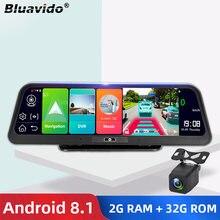 Смарт видеорегистратор bluavido 10 дюймов ips 4g android gps
