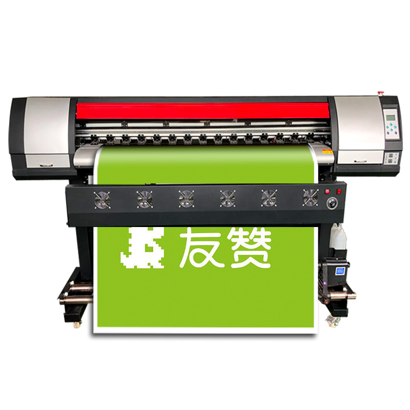 5ft Eco Solvent Printer With DX7 Head High Speed Poster Printing Machine 160cm Factory Price Chinese Inkjet Printer
