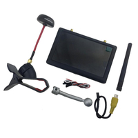 Hawkeye New Little Pilot III Duel Receivers All-in-one 5 Inch FPV Monitor for RC Transmitter Racing Drone
