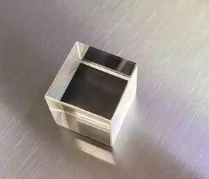 10 мм куб оптический куб луч сплиттер/дисперсия Призма