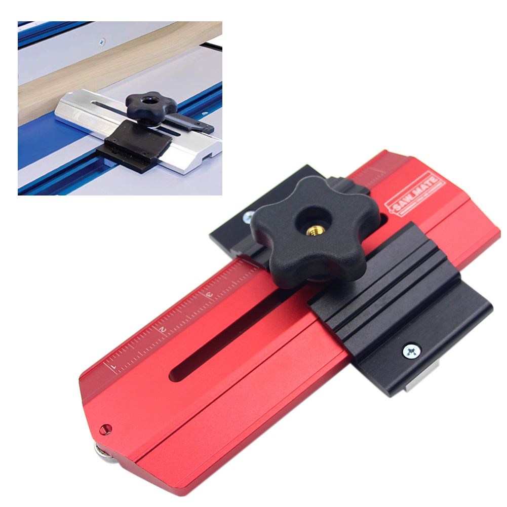 Band Saws Narrow Strip Home Tools Router Tables Woodworking Locator Thin Rip Tablesaw Jig Aluminum Alloy Slot Repetitive Cuts