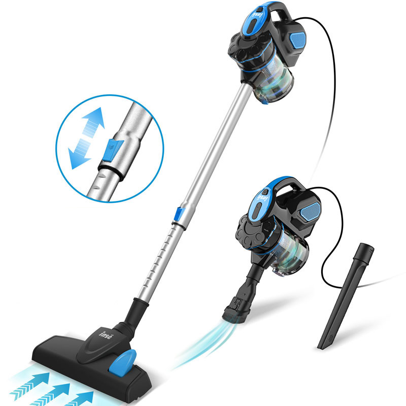 INSE I5 Household Vacuum Cleaner Power Suction Car Vacuum Cleaner Vertical Clean Vacuum Cleaner Handheld Sweeper Mopping Machine