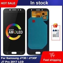 Bloc écran tactile LCD AMOLED, 5.5 pouces, pour Samsung Galaxy J730 J730F J7 Pro 2017