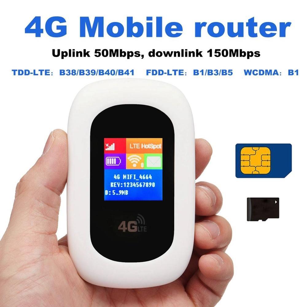 Routeur Mobile délocalisations mobiles poches sans fil Hotspot WiFi
