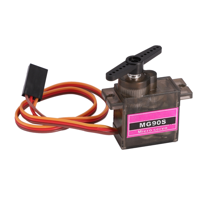 1Pcs MG90S Metal Gear Digital 9G Servo SG90 for Rc Helicopter Plane Boat Car MG90 9G