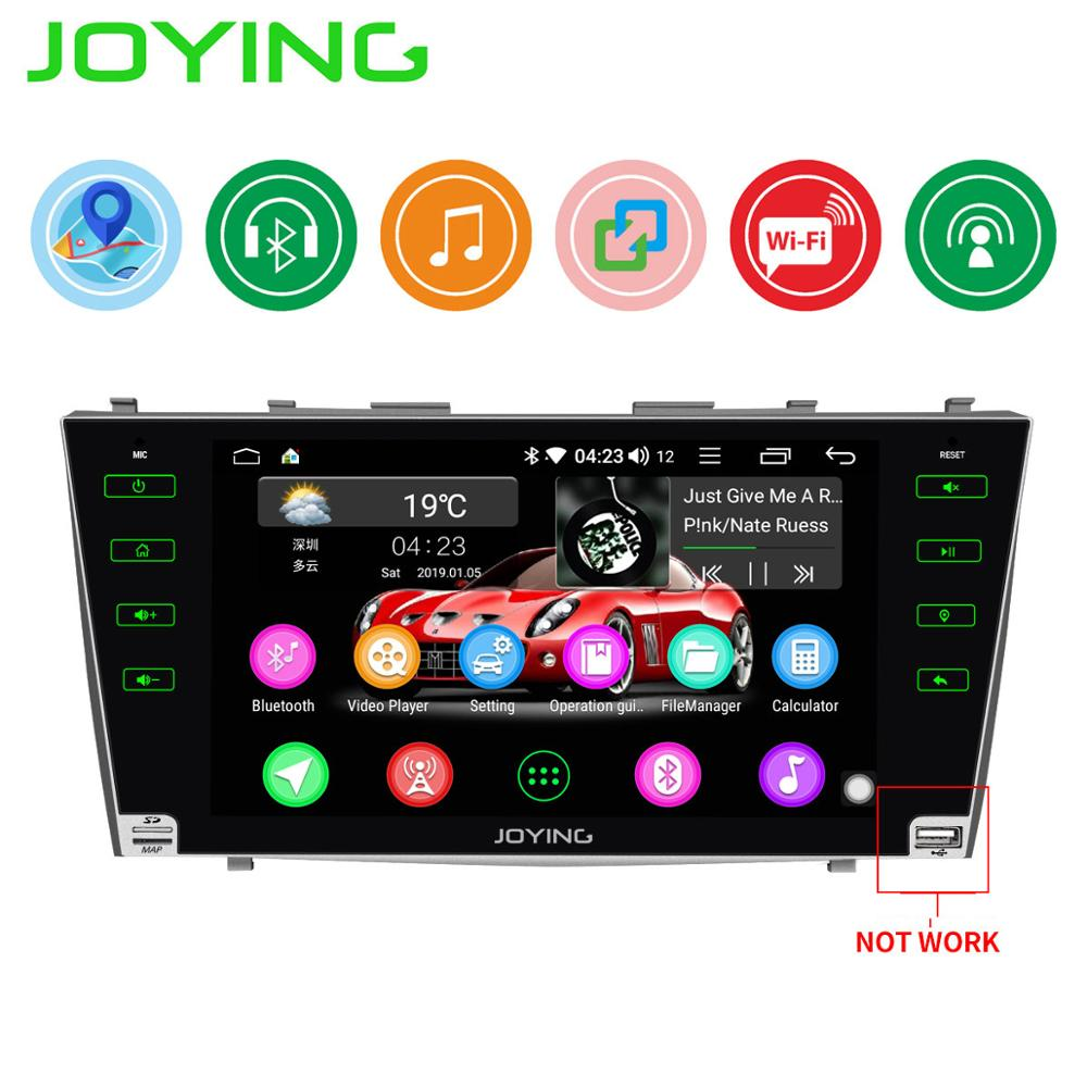Car Stereo Quar Core 2 din Android 8.1 Car Radio 9 GPS Navigation For Toyota Camry/Aurion 2007 2011 Car Head Unit Rear Camera