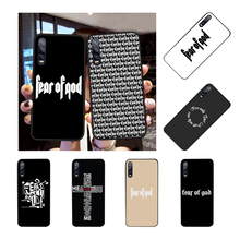 Hot American trend street brand fear god Phone Cover for Huawei P9 10 lite P20 pro lite P30 pro lite Psmart mate 20 pro lite(China)